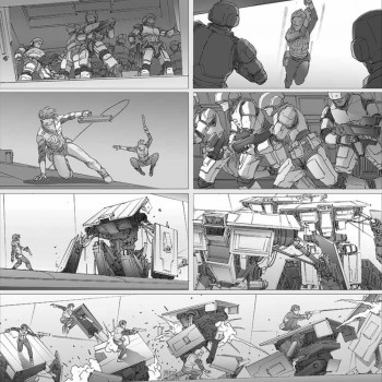 Colony Story Board 01