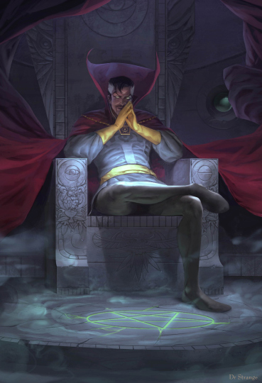Dr. Strange. Comic Art Project. ©2014 Marvel Inc