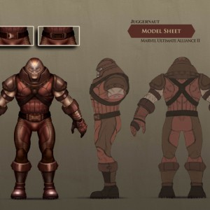 JUGGERNAUT Concept Design Marvel Ultimate Alliance 2 ©2010 Vicarious:Activision