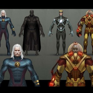 Marvel Characters Concept Design Marvel Ultimate Alliance 2 ©2010 Vicarious:Activision